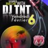 création du flyer pour la soirée DJ TNT à lyon