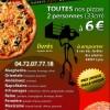 création Flyer Casaro Pizza à Lyon
