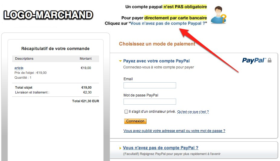 page paypal
